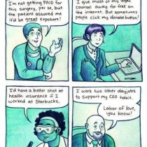 If Other Professions Were Paid Like Artists, comic by Melanie Gillman
